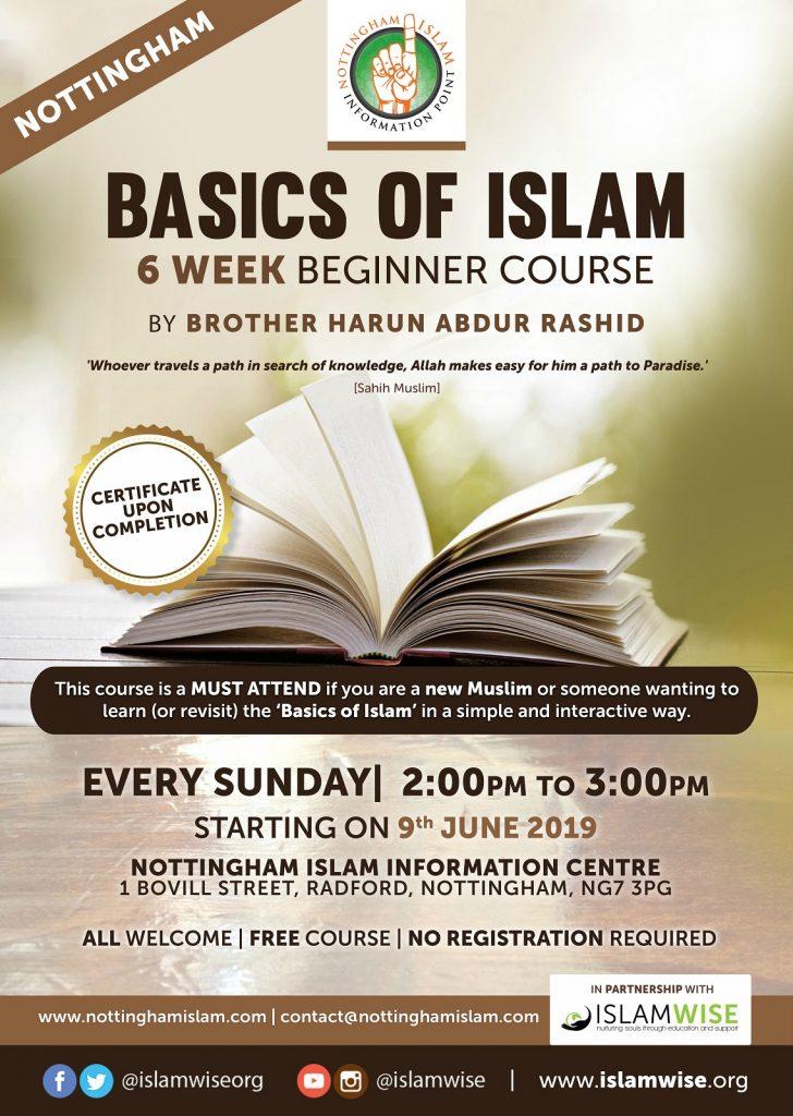 Tawheed and Shirk Basics of Islam Nottingham Free Course